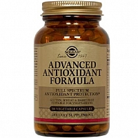 Солгар Антиоксидантная формула 870 мг 30 капсул Solgar Advanced Antioxidant Formula